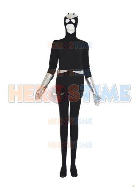 New Black Costuom Superhero Costume