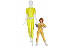 April O'Neil Costume Teenage Mutant Ninja Turtles Cosplay Costume