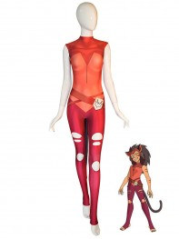 Catra Suit She-Ra Princess of Power Halloween Costume With Tail