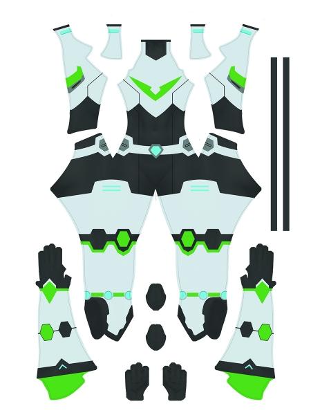 Voltron Lengendary Defender Paladin Costume