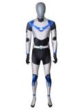 Shiro Voltron Cosplay Costume Paladin Armor Spandex Suit