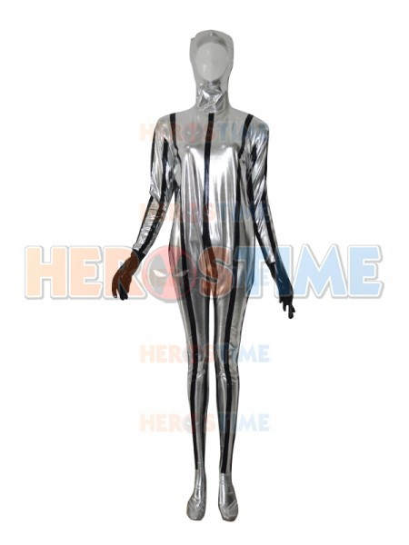 Sliver Spaceman Custom Superhero Costume