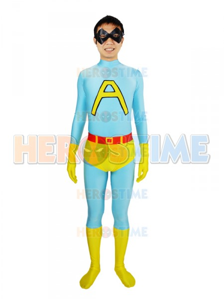 Saturday Night Live Ace Spandex Superhero Costume