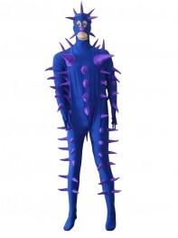 Super Cool Fantasy Purple Hedgehog Custom Costume