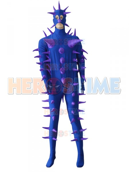 Super Cool Fantasy Purple Hedgehog Custom Costume