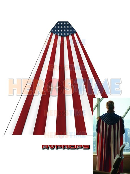 The Boys Homelander Halloween Cosplay Cape