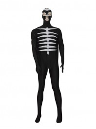 The Shocker Combatmen Black Spandex Superhero Costume