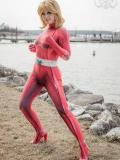 Clover Totally Spies! DyeSub Printing Cosplay Costume