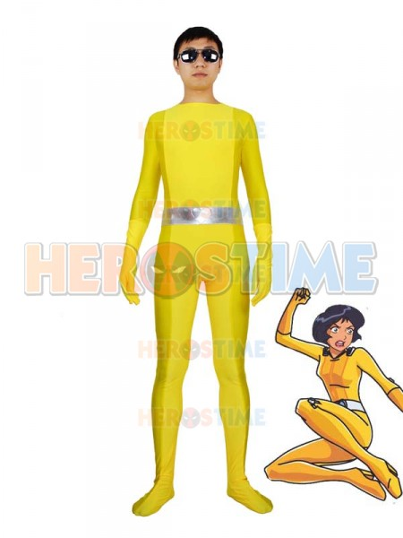 ¡Totally Spies! Traje Amarillo de Spandex de Alex