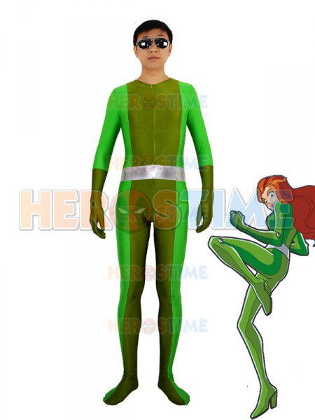 ¡Totally Spies! Traje Verde de Spandex de Sam