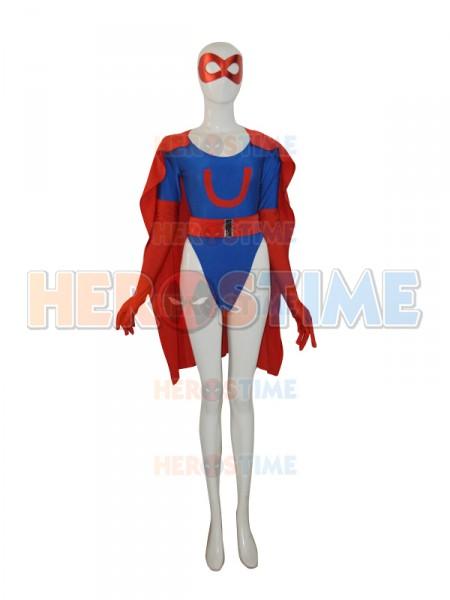 Ultra Woman Beth Spandex Female Superhero Costume