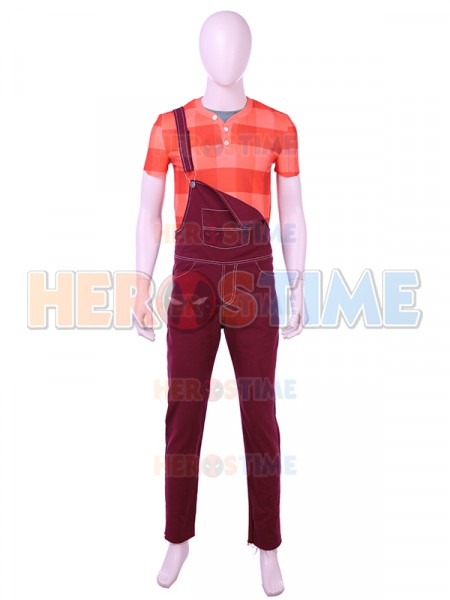 Wreck-It Ralph 2 Suit Ralph Breaks Deluxe Cosplay Costume