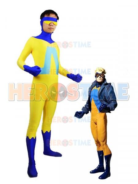 DC Comics Animal Man Spandex Superhero Costume