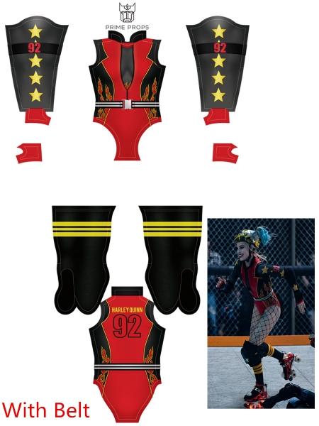 Disfraz de Harley Quinn Birds of Prey Roller Version