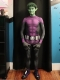 Beast Boy Dyesub Cosplay Costume with Muscle Shade