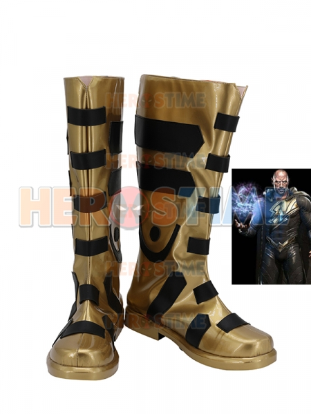 Black Adam Injustice 2 Cosplay Boots
