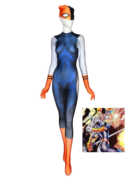 Rose Wilson Daugther of Deathstroke Cosplay Costume