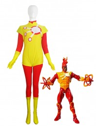 DC Comics Firestorm Spandex Superhero Costume
