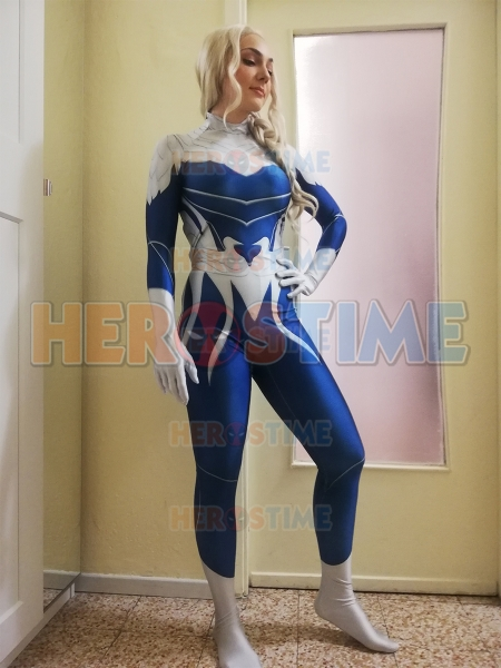 Dove Costume Titans Hawk y Dove Cosplay Dove Músculo femenino