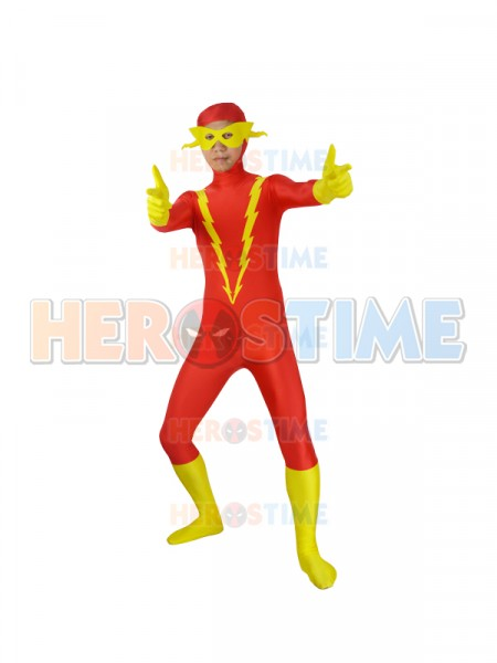Johnny Quick DC Comics Superhero Costume