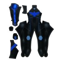 Disfraz de superhéroe femenina Nightwing de estilo más nuevo