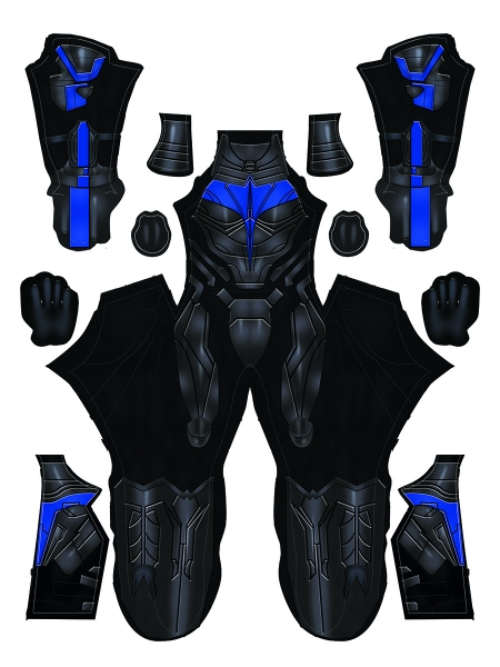 Nightwing Suit Titans Nightwing TV Series Cosplay Costume