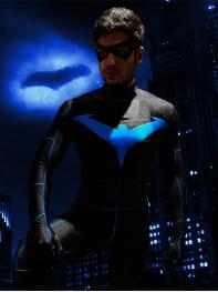 2019 Nightwing Cosplay Costume Printing Suit Halloween
