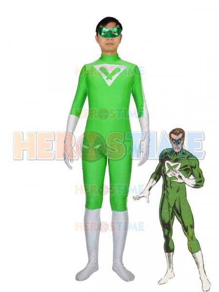 DC Comics Power Ring Spandex Superhero Costume