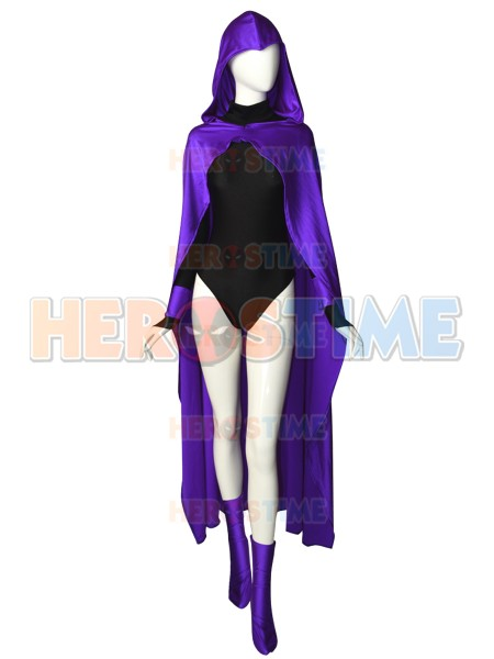 Raven DC Comics Female Superhero Cosplay Costume