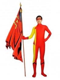DC Comics Red Star Red & Yellow Superhero Costume