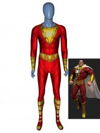 Shazam!Film Version Billy Botson Printed Costume