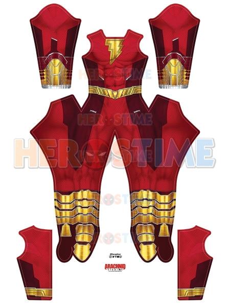 Il più recente film in costume di Shazam Shazam 2 Costume cosplay