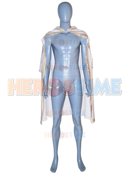 Newest Shazam Movie Version Spandex Cosplay Cape