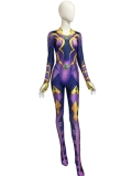 Starfire Superhero Costume Kids Adult Halloween Costume