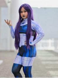 Teen Titans Blackfire Printed Cosplay Costume
