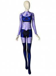 Teen Titans Blackfire Printed Cosplay Costume