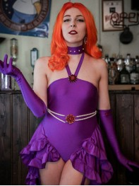 Teen Titans Starfire Girls Superhero Costume