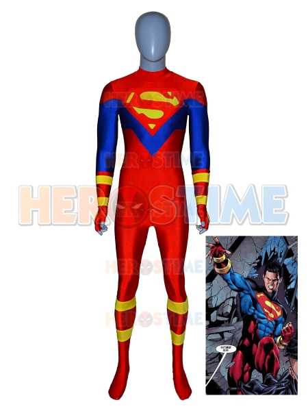 Superboy Costume Teen Titans Superhero Costume