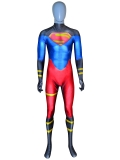 Superboy Suit DC Comics Printed Spandex Cosplay Costume