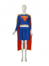 2015 Fashion Supergirl Spandex Superhero Costume
