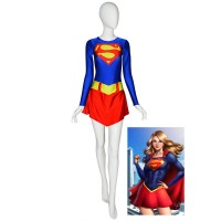 DC comics Supergirl Spandex Costume