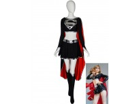 Dark Supergirl Suit DC Comics Supervillain Costume