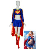 2019 Fashion Supergirl Spandex Superhero Costume