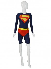 Newest Custom Navy Blue Supergirl Leotard