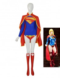 Supergirl 52 DC Comics Custom Female Superhero Costume