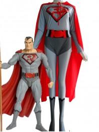 DC Comics Red Son Superman Spandex Superhero Costume