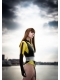 Silk Costume Spectre from Watchmen Cosplay Costume