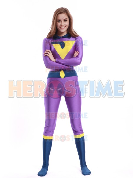 The Wonder Twins Jayna Costume