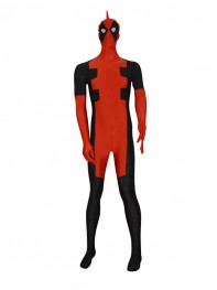 2015 New Custom Deadpool Superhero Costume