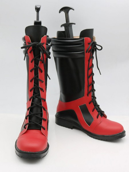 2017 Newest Deadpool Superhero Cosplay Boots